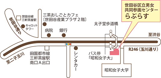 らぷらす地図